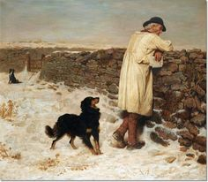 Briton Riviere - War Time Painting