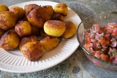 Fried Sweet Plantain Balls stuffed with Cheese