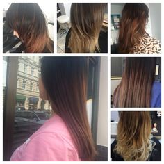 Ombre hair inspiracje  Szczecin