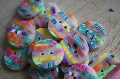Polymer clay button | Flickr – Condivisione di foto!