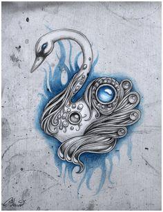 deviantART: More Like Dark flame master - dragon - tattoo design by =AlviaAlcedo