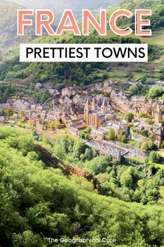 """Looking for unusual less touristy things to do and see in France? This is the ultimate guide to secret hidden gem towns in France. This France travel guide takes you to 30+ of France's secret out-of-the-way towns and villages, for the more discerning traveler. Many of these beautiful towns in France are listed among France's 157 """"les plus beaux villages"""" (the most beautiful villages) and are UNESCO World Heritage sites. Read on for some of the best and most unique places to visit in France! European Travel Tips, Visit France, Culture Travel, France Travel, World Heritage Sites, Travel Guides, The Good Place, Travel Inspiration, City Photo"""