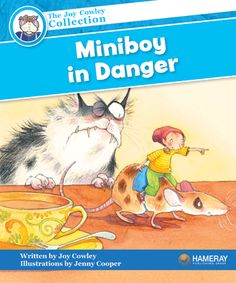 $5.95 Miniboy in Danger - Part of the Blue Series: Miniboy and Mousie find party food in the City of Kitchen. They also find danger!