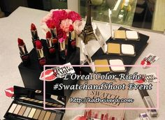 L'Oreal Color Riche #SwatchandShoot Event | Dear Kitty Kittie Kath- Beauty Blogger with Fashion, Lifestyle, and Mommy Blog on the side