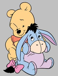 Image result for eeyore baby clipart