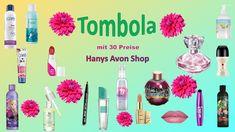 Tombola mit 30 Prämien - Hanys Avon Shop Mascara, Eyeliner, Lotion, Employer Branding, Shops, Eau De Toilette, Shower Gel, Nail Polishes, Tents