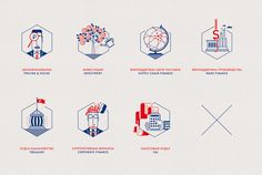 Financial Icons on Behance