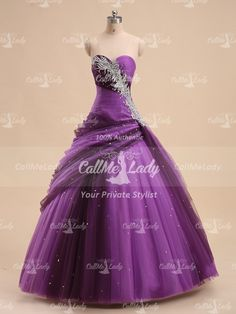 Luxurious sweetheart pleated long quinceanera dress/ prom dress - callmelady.com