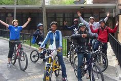 Cyclopedia in East Harlem, Manhattan received $1,400 to organize a summer bicycling program for East Harlem youth. Each excursion is comprised of a lesson on the destination, the bike ride itself, and a reflective writing or photography assignment. By reintroducing physical activity into the daily routines of the youth and by reconnecting riders with the wider world around them, the project accomplishes the twin objectives of improving physical and social health.