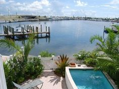 Key West Paradise@Garrison Bight: 3 BR/3.5 BA Waterfront Home and Private Dock