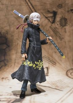 One Piece Figure: Trafalgar Law Shichibukai Figuarts Zero (6 in)
