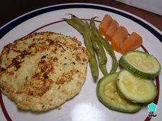 Receta de Milanesa de pollo a la plancha con vegetales #RecetasGratis #RecetasdeCocina #RecetasFáciles #RecetasparaNiños #ComidaDivertidaparaNiños #CocinaCreativa #Pollo #Milanesas