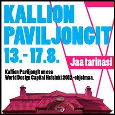 Kallion Paviljongit -logo