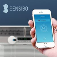 Sensibo: Make any air conditioner smart.  Add intelligence to your air conditioner. Control it from anywhere with an app and save 40% on its energy usage.
