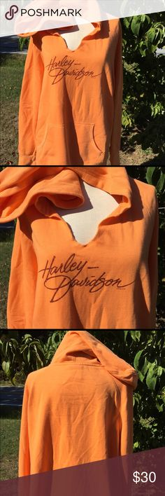 Harley Davidson Hooded Sweatshirt Size 1X Size 1X. Size tag had been removed for comfort but brand tag is still intact. Harley-Davidson Tops Sweatshirts & Hoodies