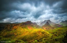 Storm over Gran Canarias Highlands - This is a shot from my visit on Gran Canaria last year. I used my Fuji X-T1 and a NB&W ND1000 neutral density filter.