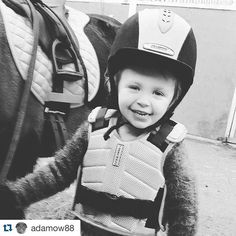 Starting with a smile #harryhall #seriousaboutsafety  #Repost @adamow88 with @repostapp. ・・・ Mia tacked up and ready to go. #daughter #horseriding #shetlandpony #harryhall