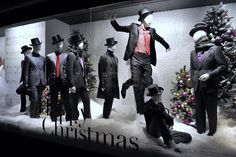 these sequenced windows show Every Mood of Christmas!  Holt Renfrew Christmas windows 2011