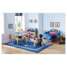 Delta Children Nick Jr. Blaze and the Monster Machines Plastic Toddler Bed,