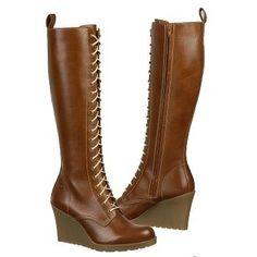 Dr. Martens Women's Leanne 20-Eye Zip Boot