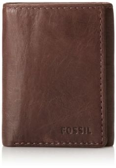 Mens NEW Luxury Soft Brown Leather Wallet by Ranger Mens Leather Wallet Trifold