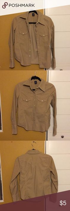 Corduroy button up Corduroy button up from gap GAP Jackets & Coats Blazers