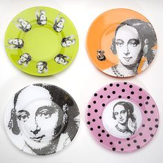 How to turn a clear glass plate into any image you want! Use your imagination...  #plates #DIY #crafts