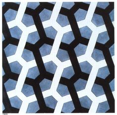 Interlaced Hexagon - M.C. Escher