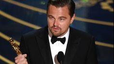 """Leonardo DiCaprio and Brie Larsonwon best actor and actress Oscars on Sunday. """"Spotlight"""" took home best picture Oscar."""