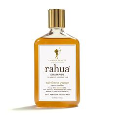 The nourishing Rahua and Ungurahua oils that create the base for this shampoo have been used by indigenous women to treat hair for centuries.