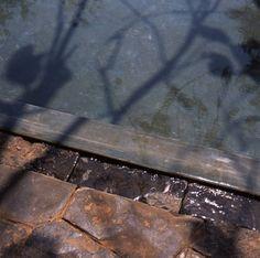 detail for drainage     Copper House II / Studio Mumbai