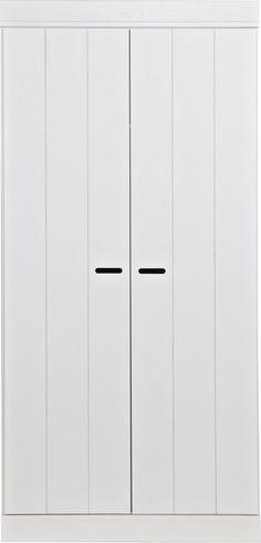Kledingkast Connect - Strokendeur - 2-deurs - Woood