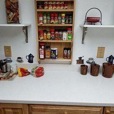 Spice rack mounted on the door pantry door mounted spice