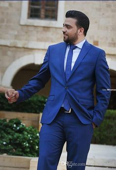New Arrival 2016 Royal Blue Groom Tuxedos Suits Best Man Suit Groomsman Bridegroom Suits Jacket+Pants+Tie Bespoke Wedding Groomsman Suits Slim Fit Groom Tuxedos Mens Wedding Tuxedos Suits Men Wedding Suits Online with $90.29/Piece on Bestdress168's Store | DHgate.com
