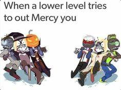 Overwatch Mercy versus Mercy