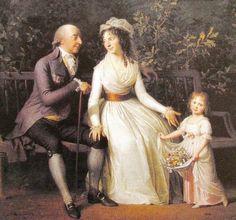 """The Raben Family"", Jens Juel, 1796; Gammel Estrup"
