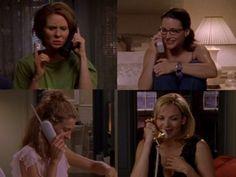 Carrie, Miranda, Charlotte and Samantha