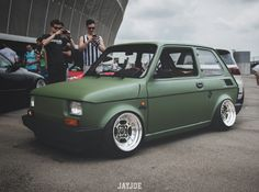 Fiat 500, Rims For Cars, American Classic Cars, Fiat Abarth, Small Cars, Retro Cars, Automotive Design, Custom Cars, Cars And Motorcycles