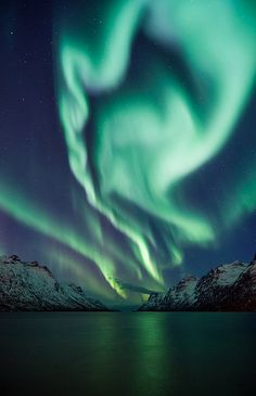 The first time I saw northern lights I freaked out not knowing what it was.  Beautiful though.