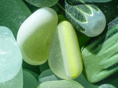 """$40  11x14"""" Print by author of The Sea Glass Rush, bevjacquemet@gmail.com  """"Sea Glass Food ~"""""""