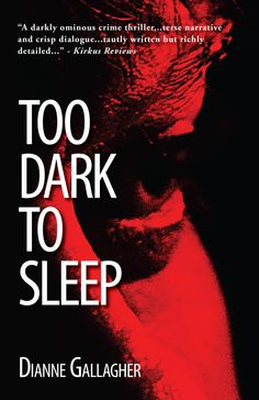 Wow. This story, Too Dark to Sleep, is awesome. Gritty. Real. It's a really good psychological thriller but the main character isn't your usual type. She's broken and struggling to find her way back out of a very dark place.... Enter to Win a copy