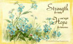 Little Birdie Blessings : Scripture Thursday ~ New Every Morning