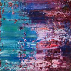 abstract N° 1029, Oil on canvas, Koen Lybaert #art