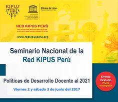 """Teresa Clotilde Ojeda Sánchez: Seminario Nacional """"Políticas de Desarrollo Docent..."""
