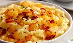 Veja a Deliciosa Receita de Receita de Pur� de batata com cebola frita. É uma Delícia! Confira!