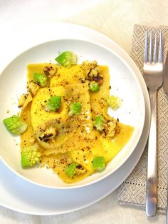 Greta's corner: Ravioli di pasta di zucca...che incontrano il panettone!