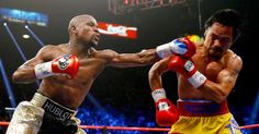 Fight of the decade...? Not really but, at least it finally happened. Congrats Floyd!