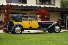 Bugatti Royale: Berline de Voyage. I got to see this one up close right after Tom Monaghan purchased it.