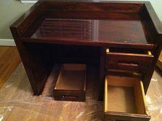 Desk AFTER makeover!