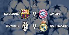 Buổi lễ bốc thăm lịch bóng đá vòng bán kết Champions League mùa giải 2014/15 đã chính thức kết thúc, không có cuộc đối đầu kinh điển Real – Barca, nhưng thay vào đó sẽ là đấu giữa hai đại diện của bóng đá tấn công hiện đại.